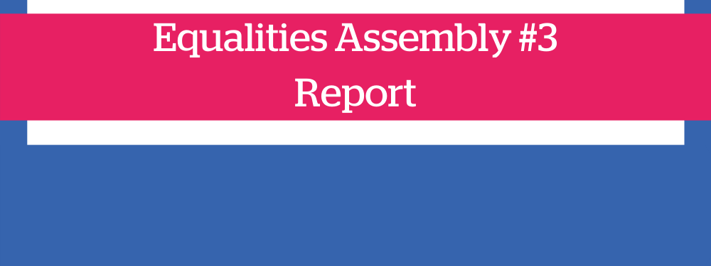 Equalities Assembly #3 Report - Rochdale Borough heading