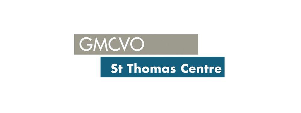 GMCVO St Thomas Centre logo