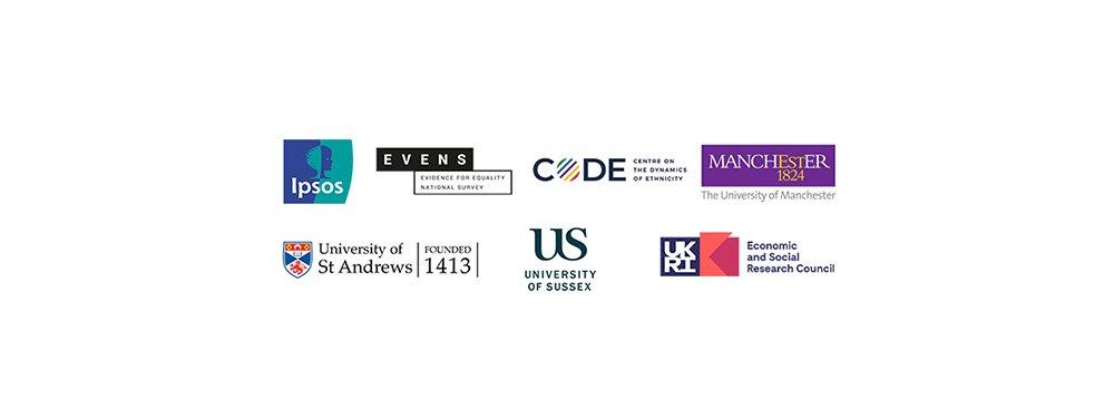 Evidence for Equality National Survey partner logos