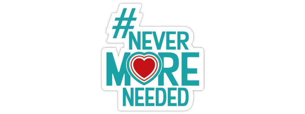 Never More Needed logo
