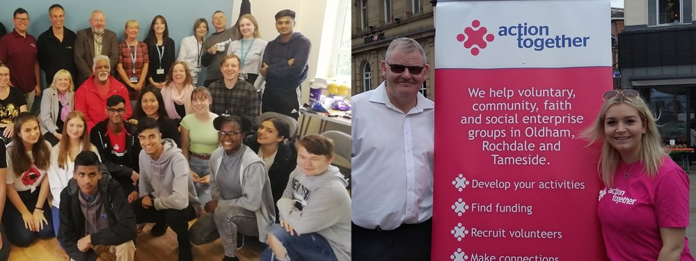 Rochdale groups and Action Together's Rochdale team