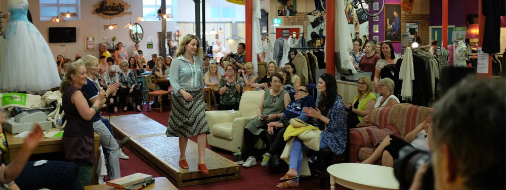 Emmaus Mossley fashion show