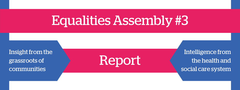 Equalities Assembly #3 Report Heading