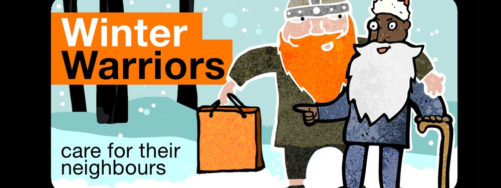 Winter Warrior website