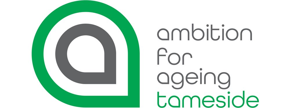 Ambition for Ageing Tameside logo