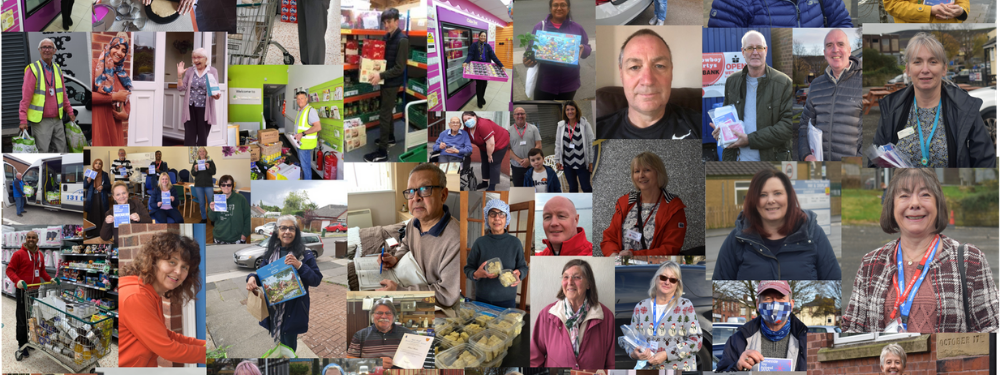 Pictures of people who have volunteered in Oldham, Rochdale and Tameside