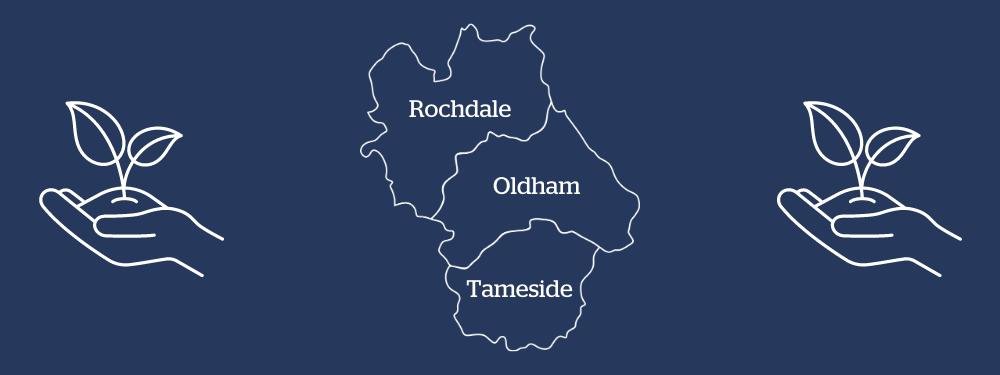 Funding help in Oldham, Rochdale and Tameside