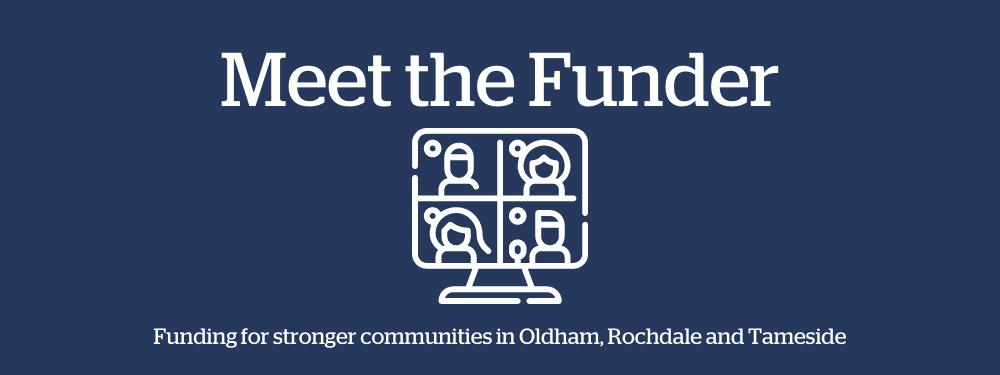 Meet the funder online