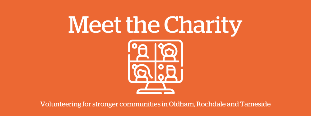 Meet the Charity - online q and a session