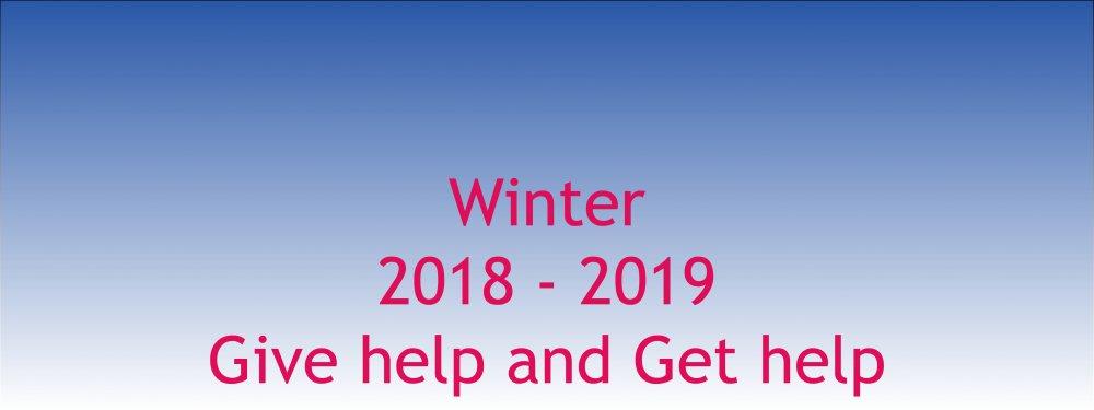 Winter website