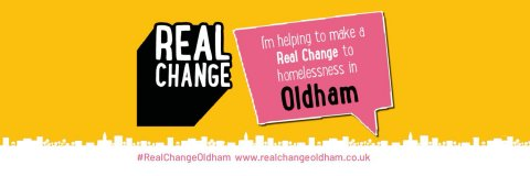 Real Change Oldham Website Banner