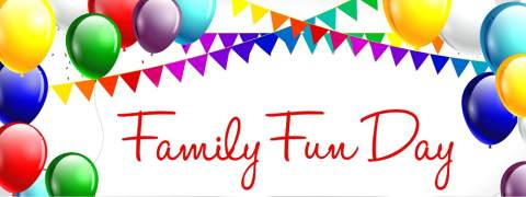 family fun day banner