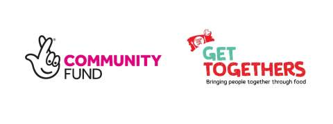 Community fund logo and Food for life