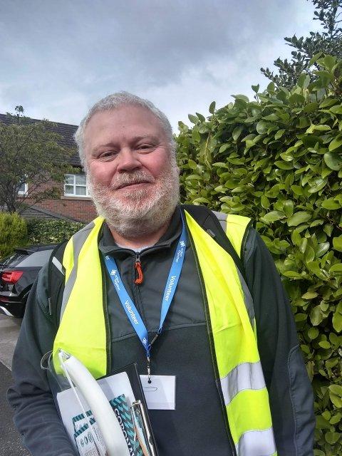 Chris Mills Doorstep Engagement Volunteer