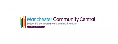 Manchester Community Central (Macc) logo