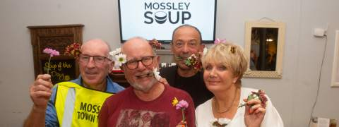 Mossley Town Team at Mossley Soup