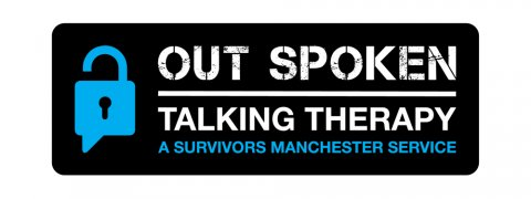 Out Spoken, Talking Therapy, Survivors Manchester logo