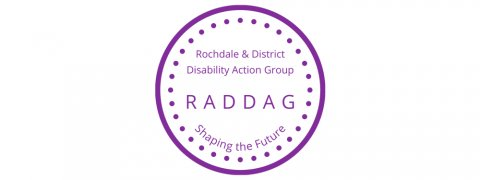 Rochdale and District Disability Action Group logo
