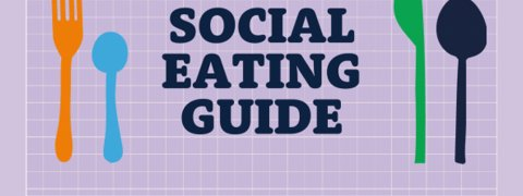 Social eating Guide and cutlery