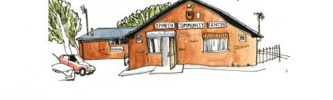 Community Warehouse drawing